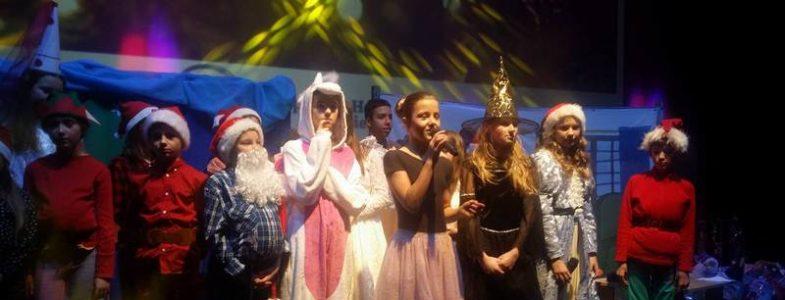 Przedstawienie mikołajkowe dla  Małopolskiego Hospicjum dla Dzieci