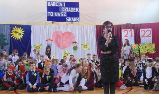 Ekologiczny Dzień Babci i Dziadka w Szkole Podstawowej Nr 1 w Dobczycach