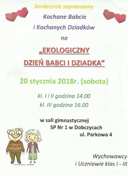 Zaproszenie Szkoła Podstawowa Nr 1 Im K K Baczyńskiego W Dobczycach