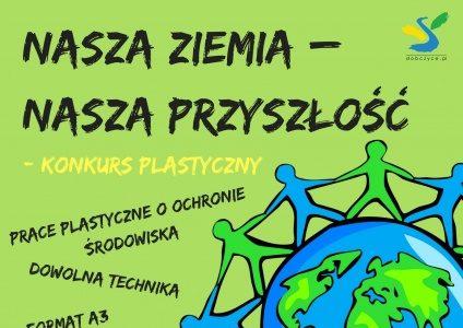 """Konkurs plastyczny ,, Nasza Ziemia-Nasza Przyszłość"""""""