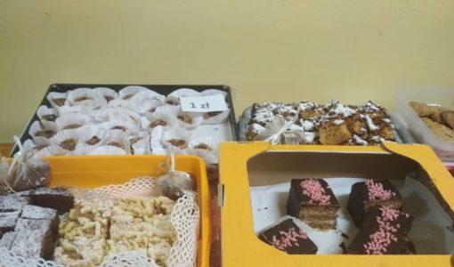 Charytatywny kiermasz ciast w naszej szkole
