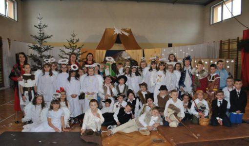 Apel bożonarodzeniowy w Szkole Podstawowej nr 1 w Dobczycach!