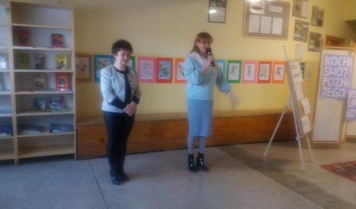 Czytanie dobczyckich legend w Szkole Podstawowej nr 1 w Dobczycach!