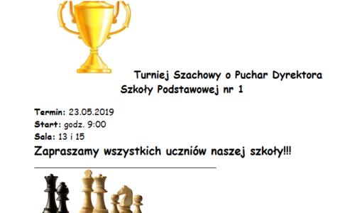 Turniej Szachowy o Puchar Dyrektora SP nr 1