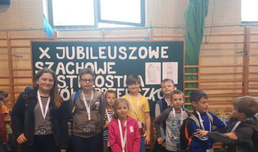 X Jubileuszowe Szachowe Mistrzostwa Szkół i Przedszkoli!
