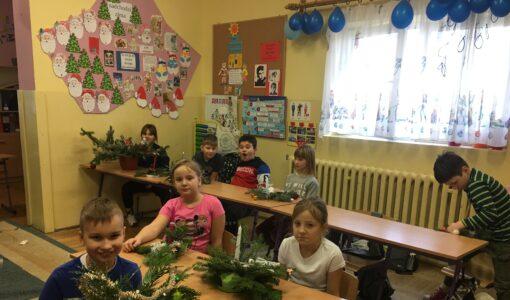 Przygotowania do Świąt Bożego Narodzenia w klasie 3b