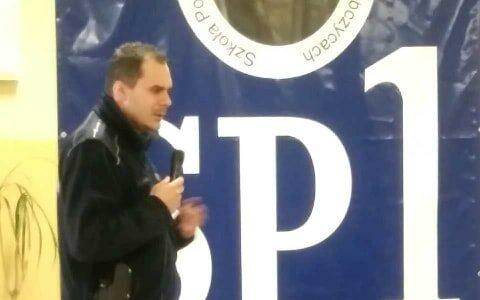 '' BEZPIECZNE FERIE ''- spotkanie z Policjantem