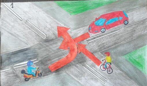 Przygotowania czwartoklasistów do egzaminu na kartę rowerową