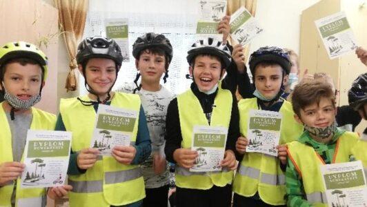 Egzamin piątoklasistów na kartę rowerową zakończony sukcesem!