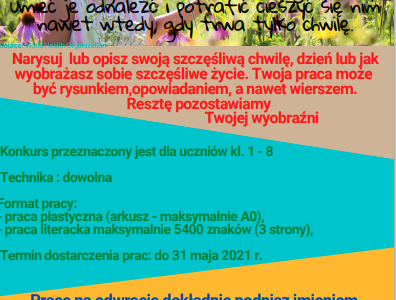 Konkurs plastyczno-literacki