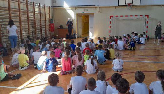 Szkolny Dzień Sportu w klasach 1-3